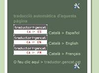 Util Botons Per Traduir Un Bloc Escrit En Catala Lo Miquelot