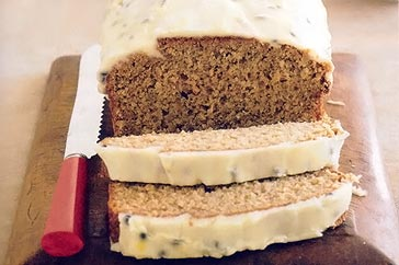 Cozy Corner Recipes: Banana & Passionfruit Loaf