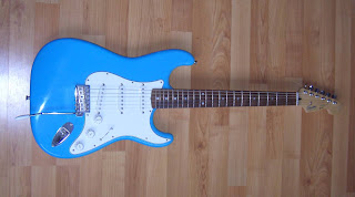 The m-factor: Guitar review: Customized Squier Stratocaster