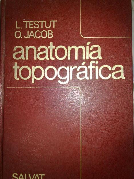 libro anatomia topografica testut