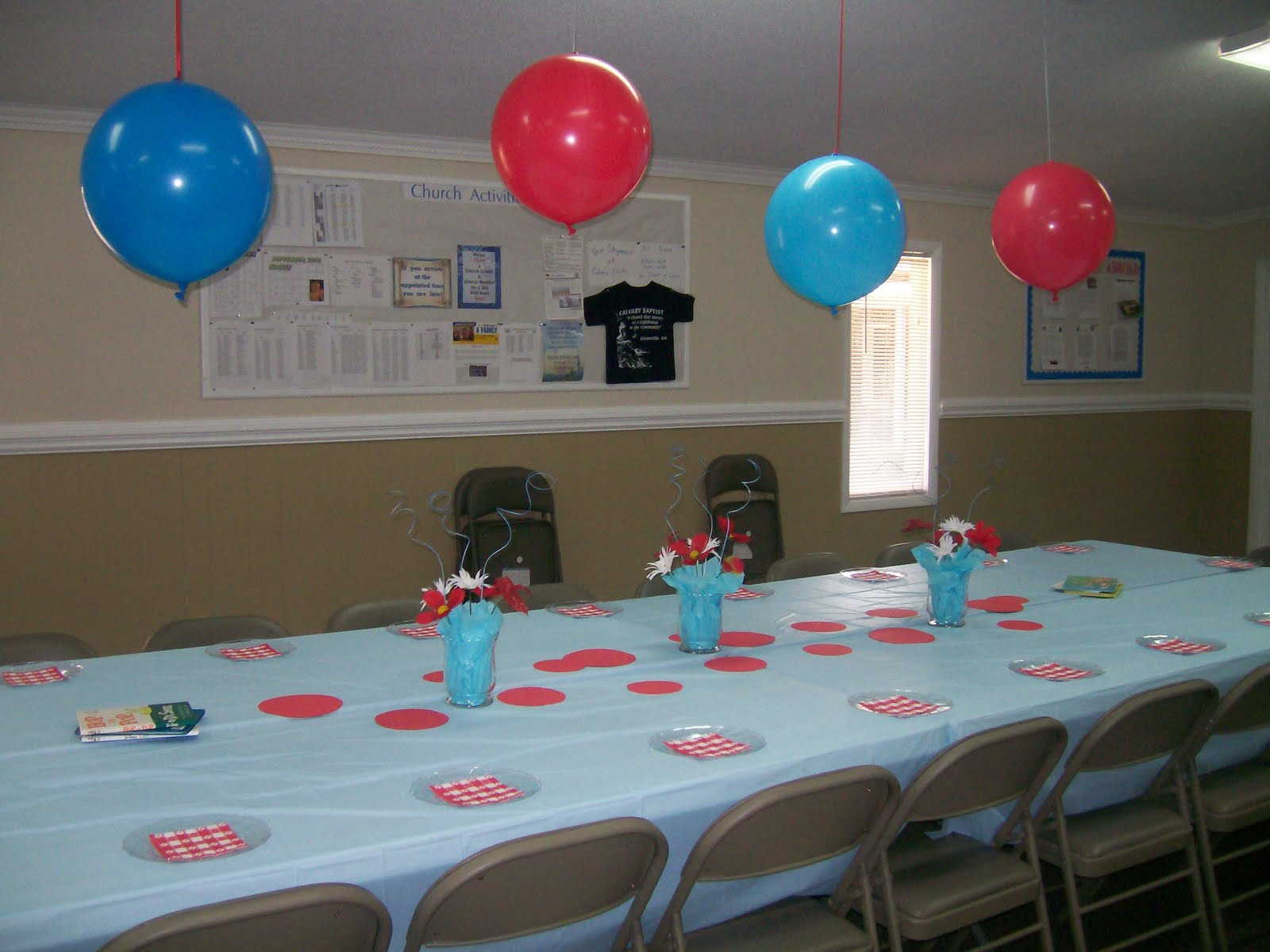 Christinas Creative Side Thing 1 Thing 2 Baby Shower
