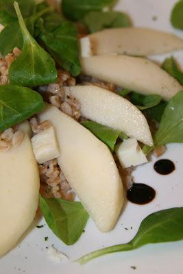 Tarallucci e insalata di farro e soncino for Soncino insalata