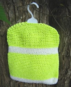 Knitting Pattern For A Peg Bag : FREE KNITTING PATTERN FOR CLOTHESPIN BAG - VERY SIMPLE ...