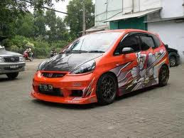 Honda Jazz modifikasi, Modification