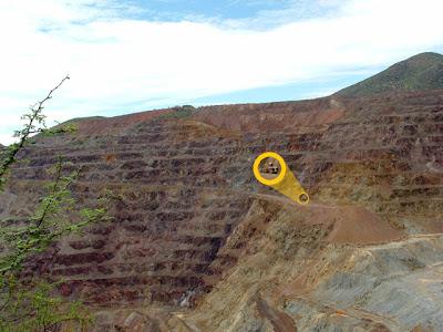 Bisbee Strip Mining