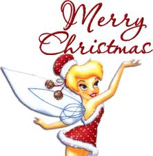 Christmas Tinkerbell.Free Christmas Cards Tinkerbell Christmas Cards Disney