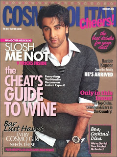 Ranbir Kapoor is the cover boy of Cosmopolitan