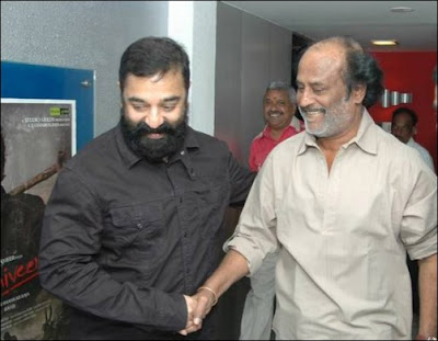 Rajinikanth and Kamal Haasan come face to face