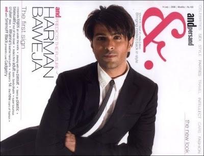 Harman Baweja on cover of Andpersand