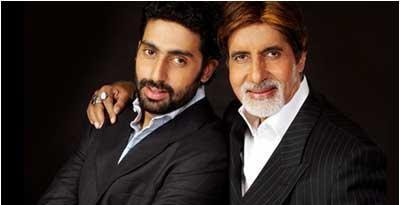 Amitabh Bachchan plays son Abhishek's grandfather