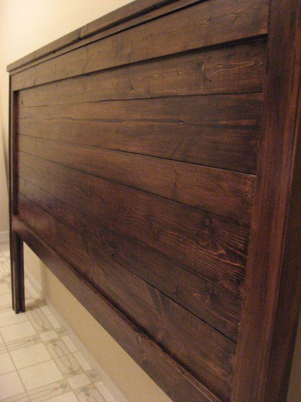 Girl vs House: Reclaimed Wood-Look Headboard - King Size