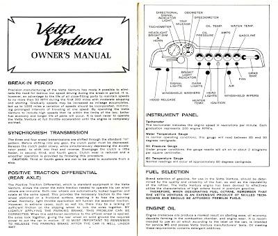 All Car Design For You: The Vetta Ventura brochure and
