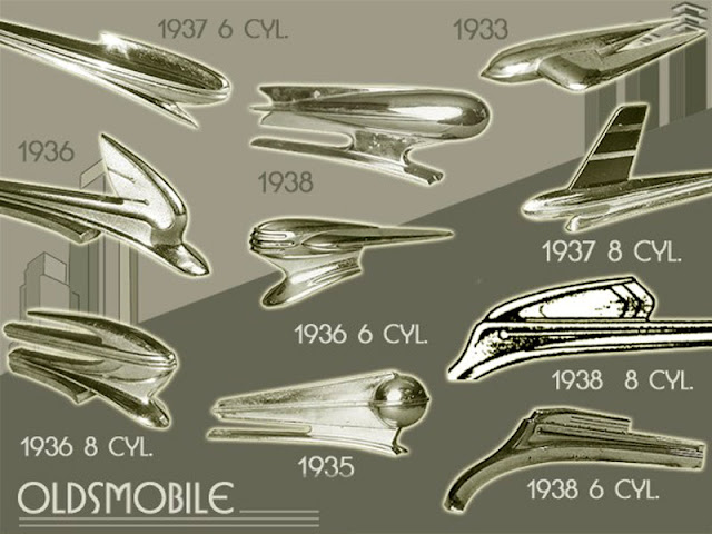 1956 Oldsmobile Hood Ornaments Identification