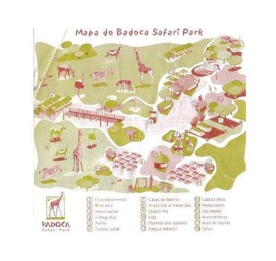 badoca safari park mapa Praquistá: mapa ilustrações badoca safari park mapa