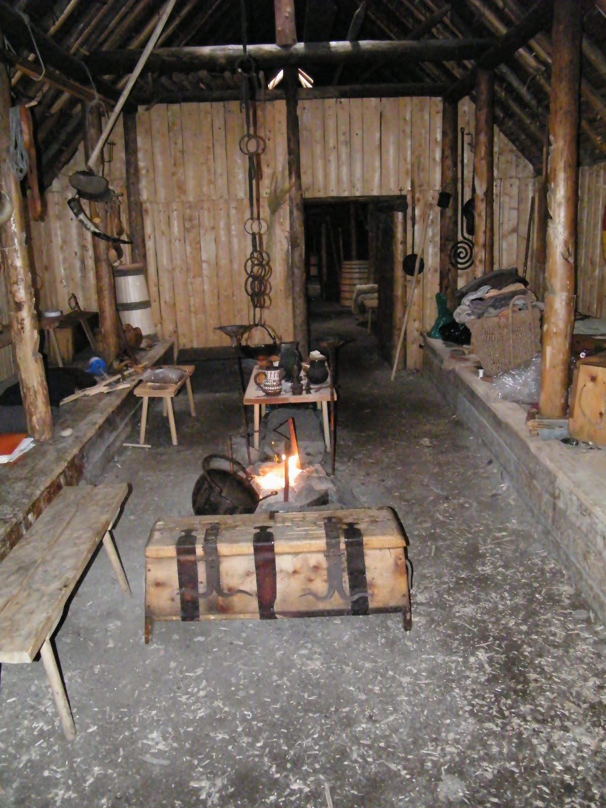 Wonderous Woolerie Glimpses From The Viking Longhouse