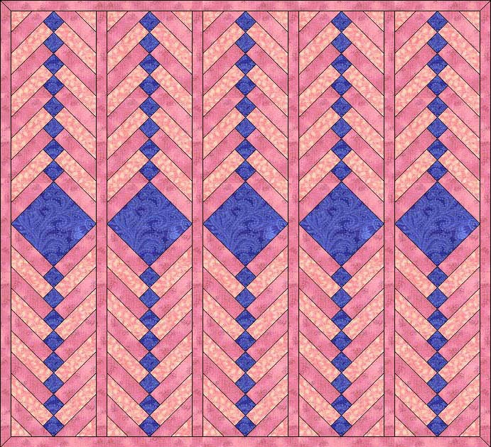 Janel Was Here French Braid Quilt Pattern