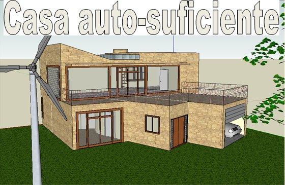 Construção de uma casa auto-suficiente