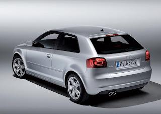 Audi A3 trasera