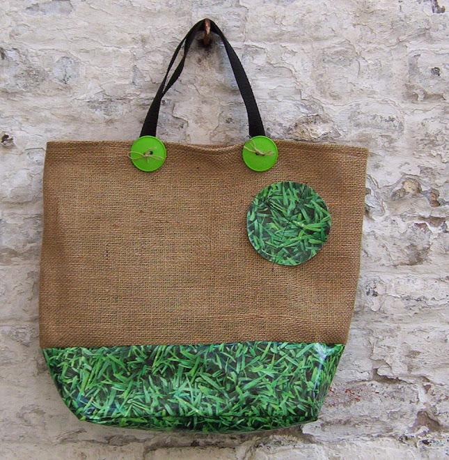 cabas herbe