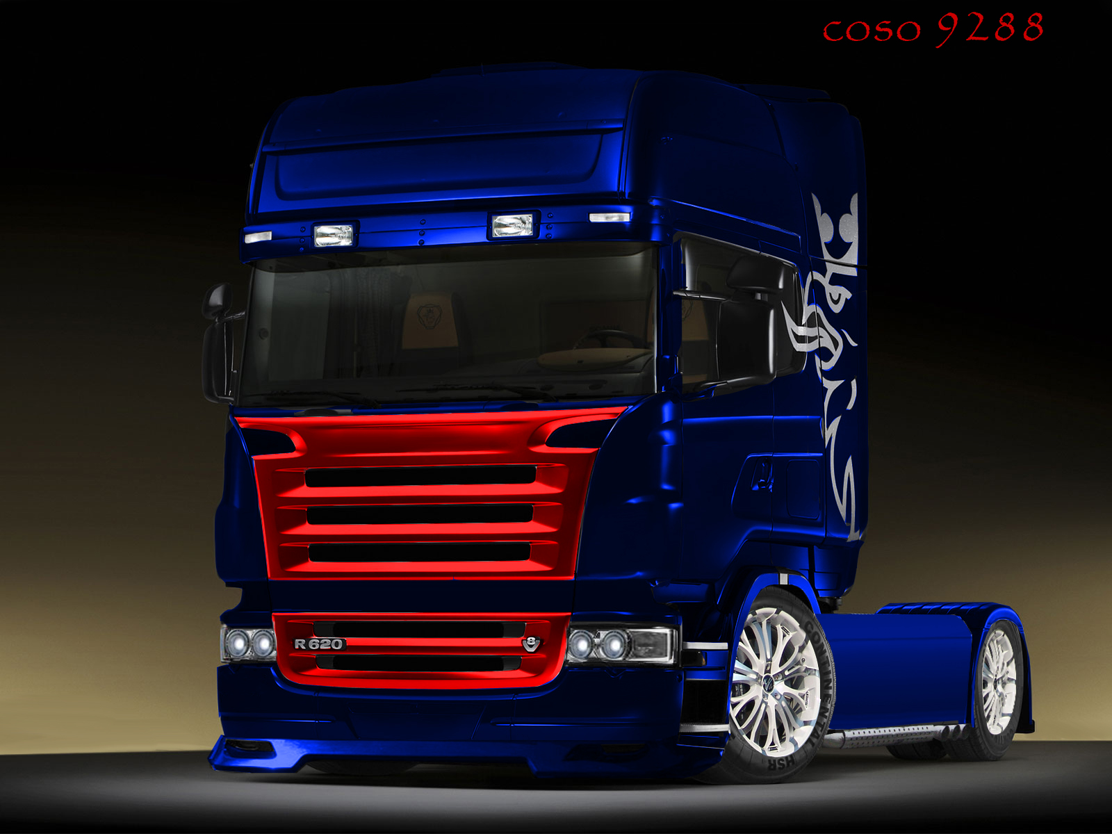 11th virtual car tuning battle scania truck we are petrolheads. Black Bedroom Furniture Sets. Home Design Ideas