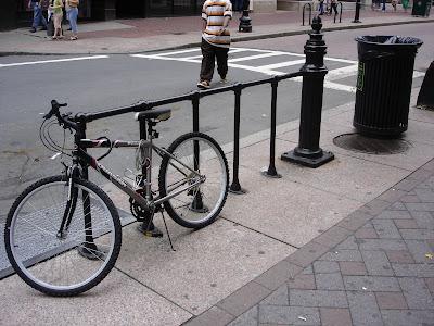 Boston bike parking