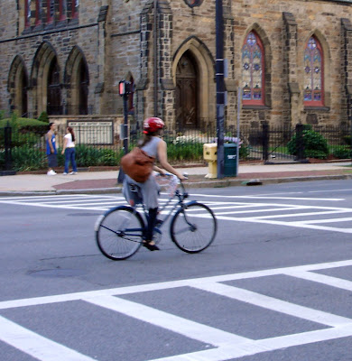 Boston cyclist 3-speed church