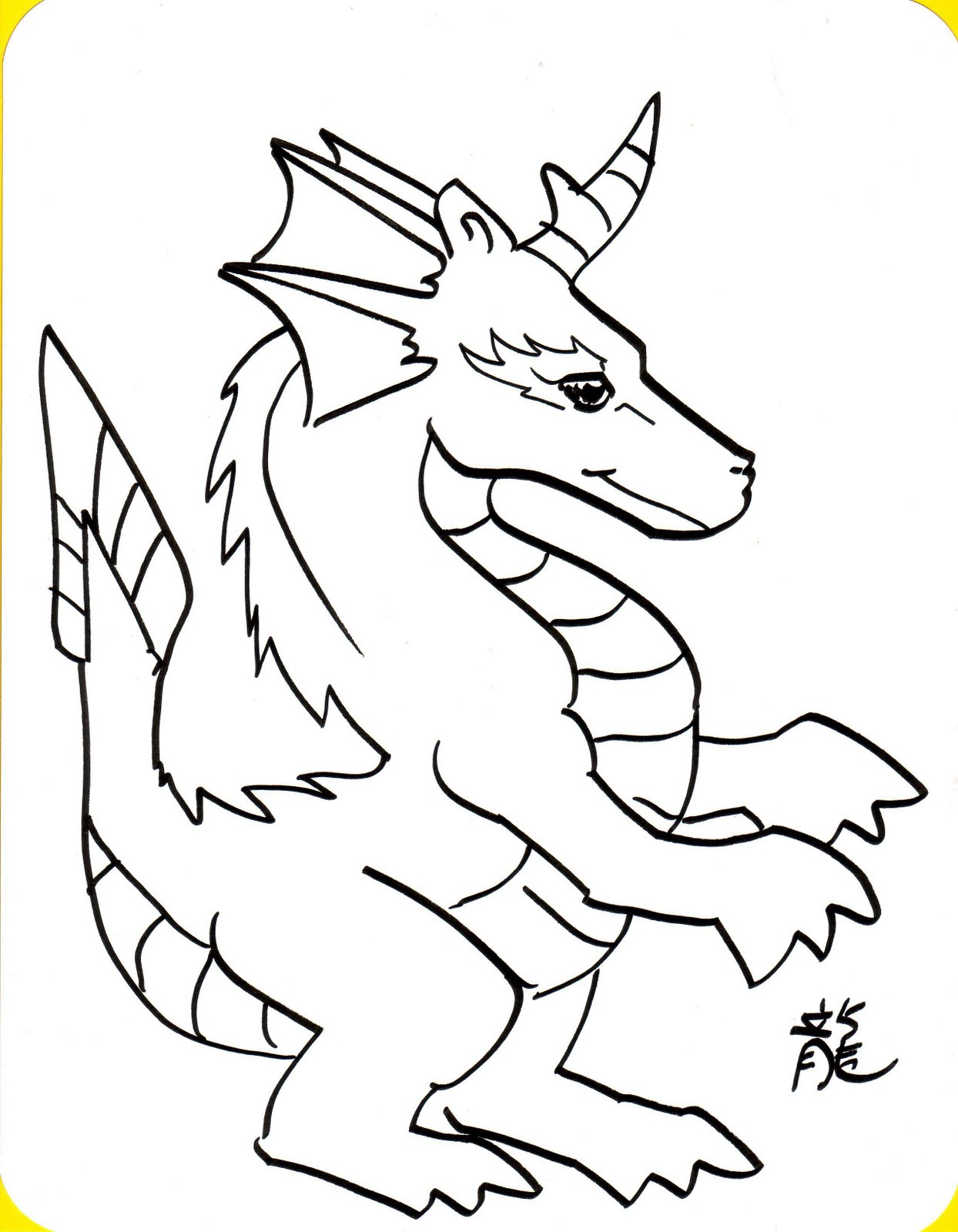 dragon coloring pagesfree coloring pages for kids free coloring