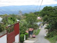 street in Santiago de Puriscal