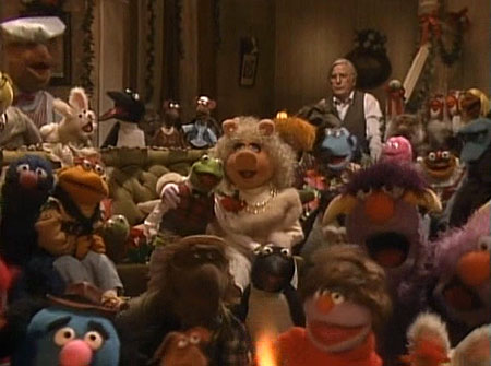 Muppet Family Christmas.Christmas Tv History 1980s Christmas A Muppet Family Christmas