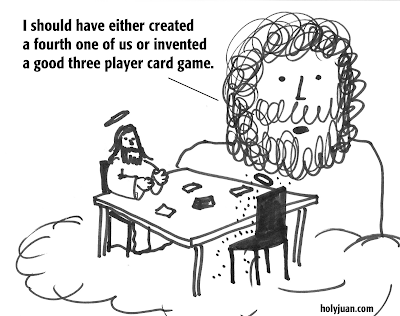HolyJuan: A good three person card game