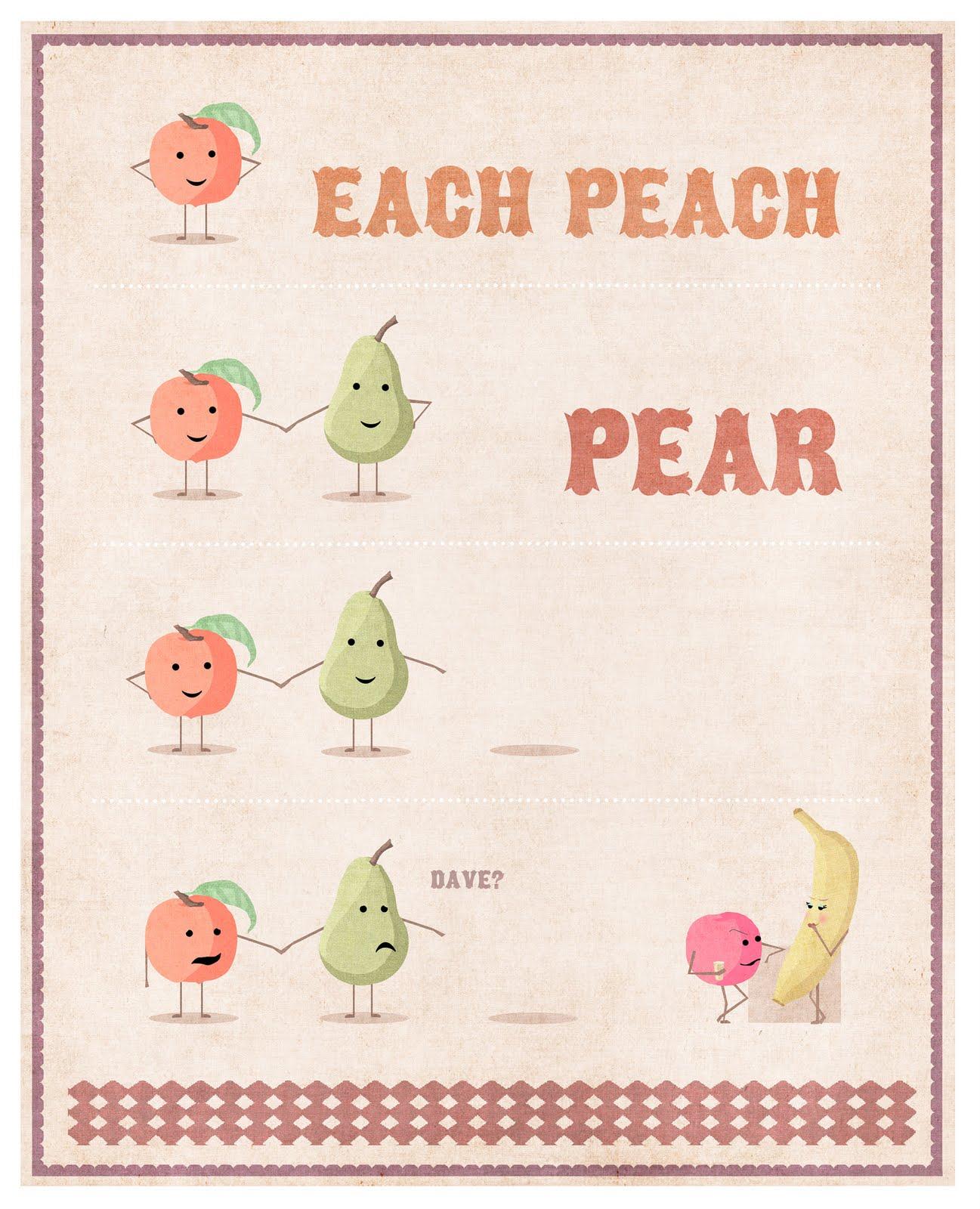 Creative Hub Each Peach Pear Plum