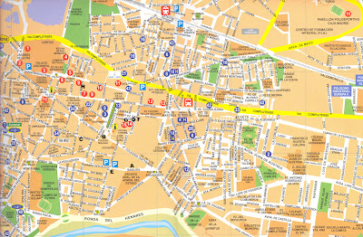 Mapa Alcala De Henares.Digitalizar Lo Efimero Plano De Alcala De Henares
