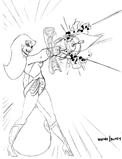From The Escape Art Files: It's Wonder Woman Time...
