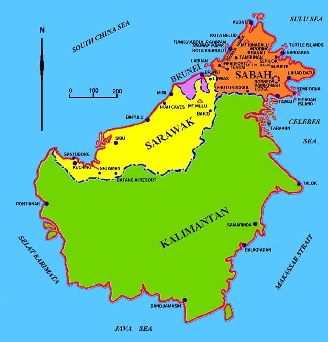 Borneo Island: Borneo Island: Suitable For Indonesia's Capital