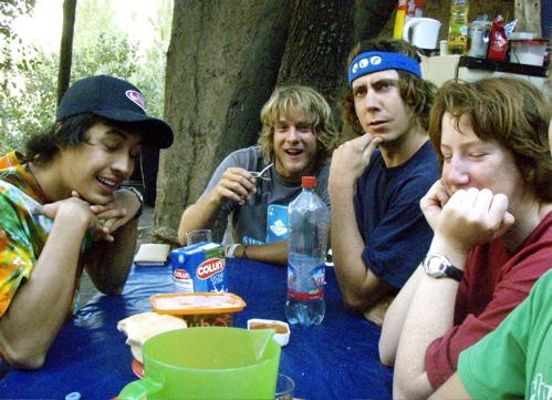 Dan, LJ, Josh and Andy