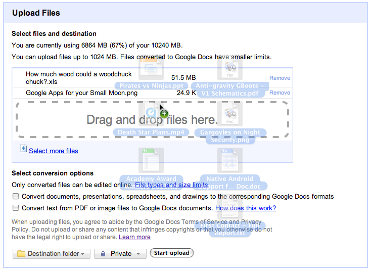Google Drive Blog: New this week in Docs: Drag and drop