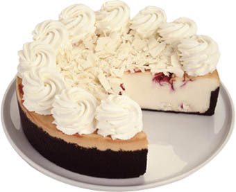 Copycat White Chocolate Raspberry Truffle Cheesecake Recipe