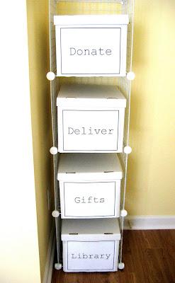 DIY Storage for Transient Items