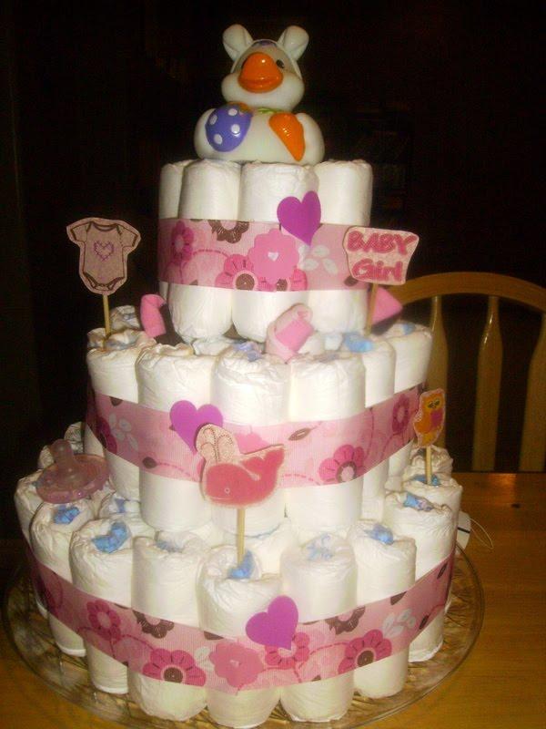 Craft Envy Diaper Cake Tutorial