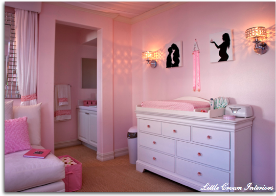 A Little Princess Nursery Design: Design Lily: Baby Lillian Nursery Inspiration