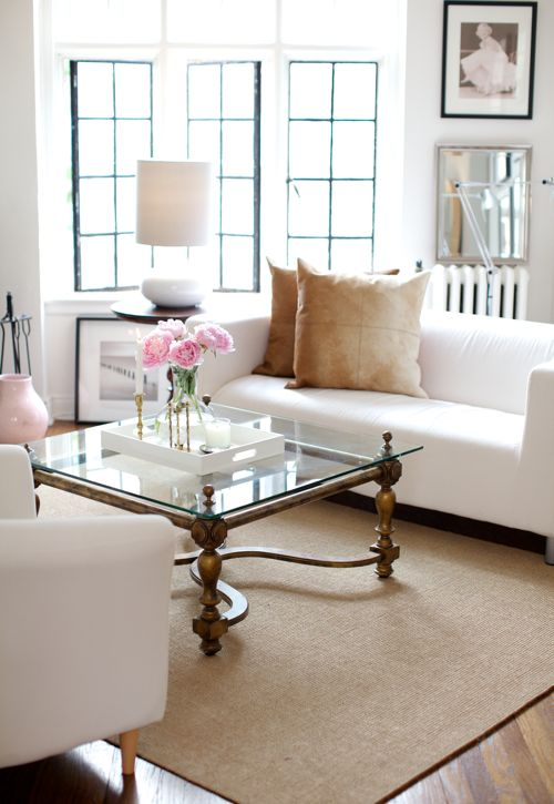 White Couch Living Room Decor: Turn Up The Rad Blog: Design Crush: White Couch
