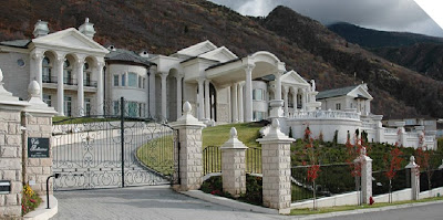 A Look At Utah Mega Mansions Homes Of The Rich