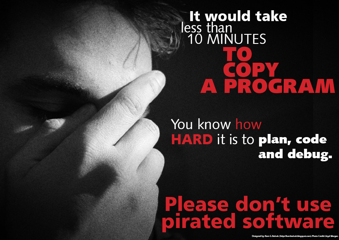 Software piracy essay