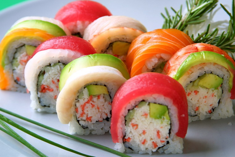 sushi beautiful fish food - photo #28