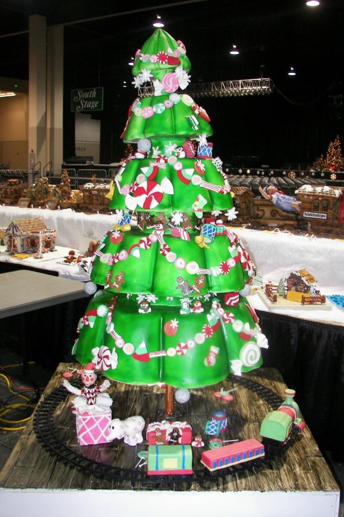 Funny Christmas Cards Christmas Tree Cake