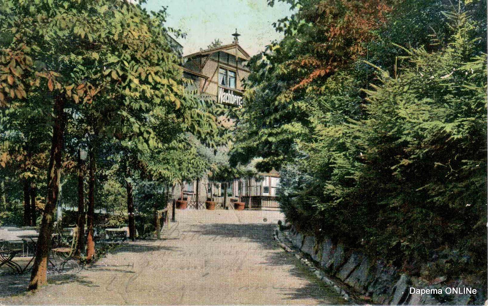 Wachbergschänke 1909 - Dresden-Postkarte KW 42/10 | Dapema ONLINe