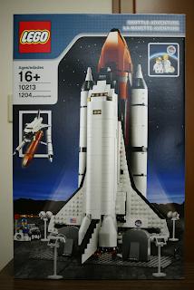 LEGO: 10213 Shuttle Adventureが届きました