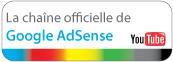 chaine officielle de google adsense