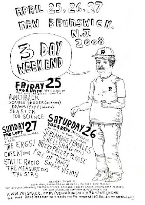 New Brunswick 3 day Music weekend
