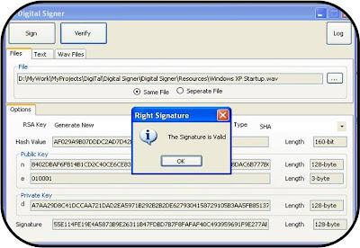 Steganography sample code